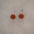 Boucles d'oreilles ronde pic 